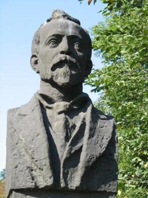 Алеко Константинов паметник