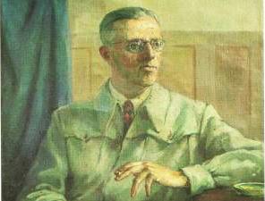 Димитър Димов портрет