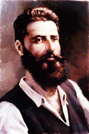 Христо Ботев портрет