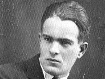 Никола Вапцаров портрет