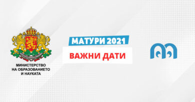 Матури 2021 - важни дати