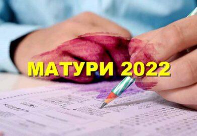 Матури 2022 - дати за 12 клас